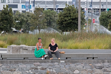 Capturing ordinary women of Auckland in their daily lives.
