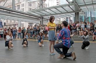 Wedding Proposal Flash Mob