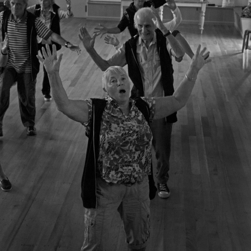 World's oldest dance group, specializing in hip-hop dance. Dancers age range from 60 to 96