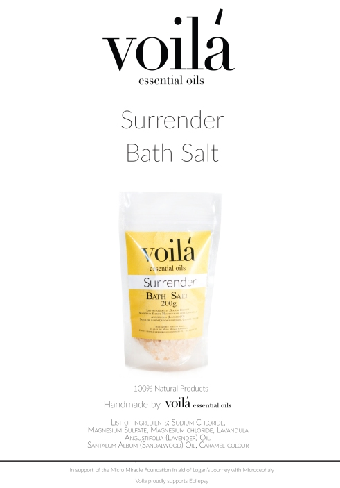 surrender bath salt